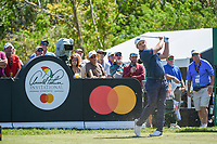 Eddie Pepperell (ENG) watches his tee shot on 7 during round 1 of the Arnold Palmer Invitational at Bay Hill Golf Club, Bay Hill, Florida. 3/7/2019.<br /> Picture: Golffile | Ken Murray<br /> <br /> <br /> All photo usage must carry mandatory copyright credit (&copy; Golffile | Ken Murray)