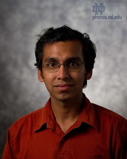 Saurav Pandit..Photo by Matt Cashore/University of Notre Dame