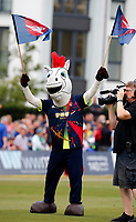 Kent mascot during the Vitality Blast south group game between Kent Spitfires and Surrey at the St Lawrence ground, Canterbury, on Fri July 20, 2018