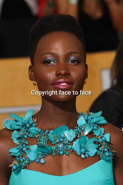 LOS ANGELES, CA - JANUARY 18: Lupita Nyong'o attending the 2014 SAG Awards in Los Angeles, California on January 18, 2014.<br /> Credit: RTNUPA/MediaPunch<br /> Credit: MediaPunch/face to face<br /> - Germany, Austria, Switzerland, Eastern Europe, Australia, UK, USA, Taiwan, Singapore, China, Malaysia, Thailand, Sweden, Estonia, Latvia and Lithuania rights only -