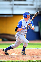 April 14, 2010:  Shortstop Jacob Rosenbeck of the Buffalo Bulls during a game at Sal Maglie Stadium in Niagara Falls, NY.  Photo By Mike Janes/Four Seam Images