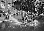 Brooklyn, New York City, NY. August, 1971. <br />