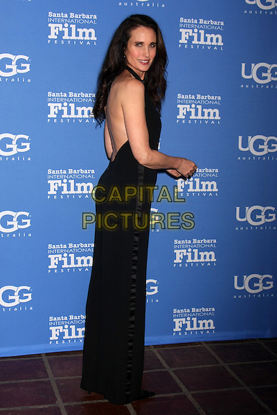 SANTA BARBARA, CA - JANUARY 31: Andie MacDowell at the Santa Barbara International Film Festival - Modern Master at the Arlington Theater in Santa Barbara, California on January 31, 2015. <br /> CAP/MPI/DC/DE<br /> &copy;DE/DC/MPI/Capital Pictures