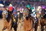 iNovember 3, 2018: Accelerate #14, ridden by Joel Rosario, wins the Breeders' Cup Classic on Breeders' Cup World Championship Saturday at Churchill Downs on November 3, 2018 in Louisville, Kentucky. Kaz Ishida/Eclipse Sportswire/CSM