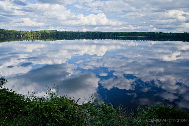 Little Moose Lake, Adirondacks, upstate New York.