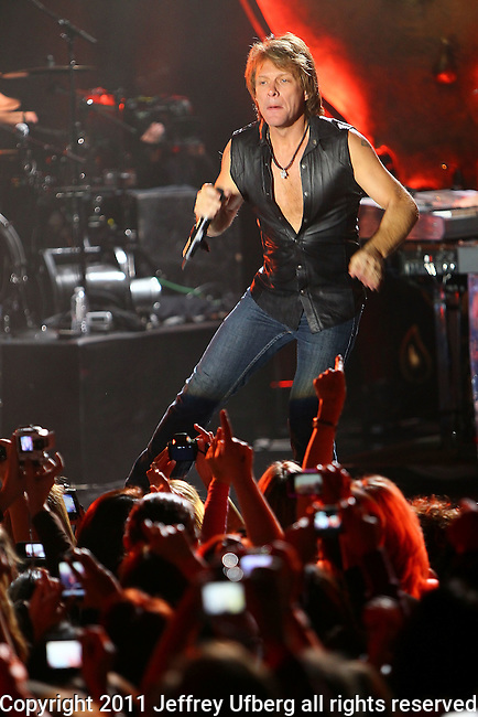 Nov. 10,2010 New York:Bon Jovi performs at Best Buy Theatre on November 10, 2010 in New York City.