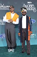 17 November 2019 - Las Vegas, NV - Earth Gang. 2019 Soul Train Awards Red Carpet Arrivals at Orleans Arena. Photo Credit: MJT/AdMedia