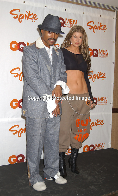 "Black Eyed Peas                               ..at the Eighth Annual GQ "" Men of the Year "" Awards on ..Spike TV on October 21, 2003 at the Regent Wall Street  ..in New York City. Photo by Robin Platzer, Twin Images"