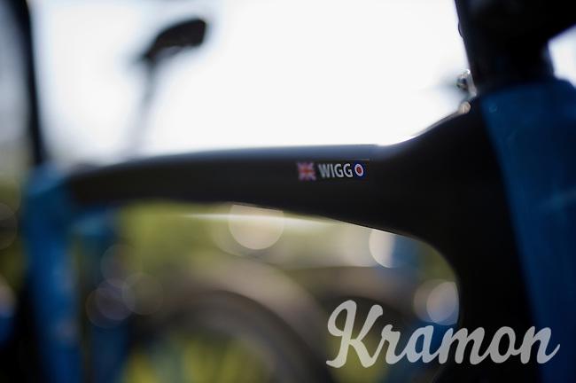 Wiggo-bike<br /> <br /> 2015 Paris-Roubaix recon with Team SKY