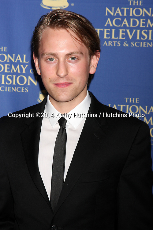 LOS ANGELES - JUN 20:  Eric Nelsen at the 2014 Creative Daytime Emmy Awards at the The Westin Bonaventure on June 20, 2014 in Los Angeles, CA