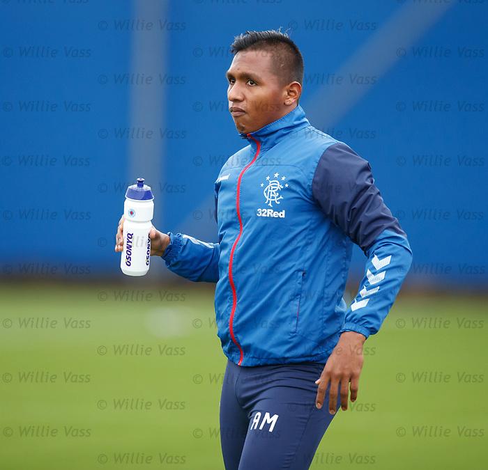24.09.2019 Rangers training: Alfredo Morelos