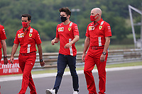 16th July 2020, Hungaroring, Budapest, Hungary; F1 Grand Prix of Hungary, drivers arrival and track inspection day;  16 Charles Leclerc MCO, Scuderia Ferrari Mission Winnow, Budapest Hungary