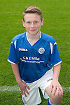 St Johnstone FC Academy Under 13's<br /> Logan Thoms<br /> Picture by Graeme Hart.<br /> Copyright Perthshire Picture Agency<br /> Tel: 01738 623350  Mobile: 07990 594431