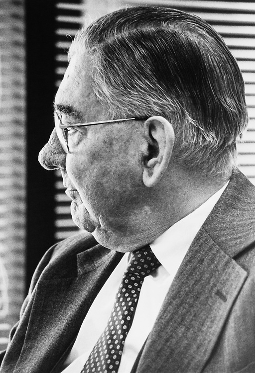 Former Rep. Wilbur Mills, D-Ark. in 1988. (Photo by CQ Roll Call)