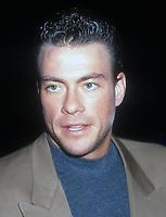 Jean Claude Van Damme, 1991, Photo By Michael Ferguson/PHOTOlink