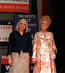 Candice Bergen and Angela Lansbury star in The opening Night of Broadway's Gore Vidal's The Best Man on April 1, 2012 at the Gerald Schoenfeld Theatre, New York City, New York. (Photo by Sue Coflin/Max Photos)