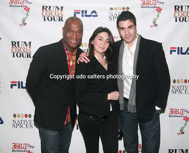 Carl Nelson, Luisa and Luigi Attend Jocelyn Taylor's Birthday Celebration and Official Launch of JRT Multimedia, LLC (A Luxury Branding Company)at Nikki Beach Midtown, New York, 3/26/2011