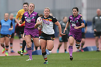 Picture by Paul Currie/SWpix.com - 07/10/2017 - Rugby League - Women's Super League Grand Final - Bradford Bulls v Featherstone Rovers - Regional Arena, Manchester, England - Charlotte Booth of Bradford Bulls scoring the 3rd try