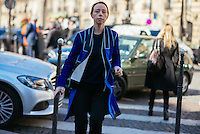 Ricki Del Sole at Paris Fashion Week (Photo by Hunter Abrams/Guest of a Guest)