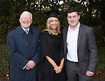 24/10/2014    Pictured at the recent MIC graduations were Tom Prendergast, Shannon, Amee Fitzgerald, Dunboyne, Meath conferred with a conferred with a BA (Early Childhood Care &amp; Education).with her brother David Fitzgerald..<br /> Close to 1000 students from 23 counties and 3 continents were conferred with academic awards across the College&rsquo;s 27 programmes in addition to 13 students being conferred with PhD awards.Picture Liam Burke/Press 22