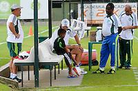 SAO PAULO, SP, 03 DE FEVEREIRO DE 2012. O tecnico do Palmeira Felipe Escolari durante treino no Ct da Barra Funda (FOTO: ADRIANO LIMA - NEWS FREE).