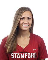 Stanford, CA - September 20, 2019: Caroline Mondiello, Athlete and Staff Headshots