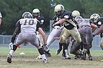 Palos Verdes, CA 11/04/11 - Ryan Sawelson (Peninsula #32) in action during the West Torrance vs Peninsula varsity football game.