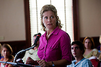 Nancy Travis as Lorraine Dougan in the Lifetime Television Original Movie 'The Pregnancy Pact,' loosely based on the 2008 Gloucester High School case.