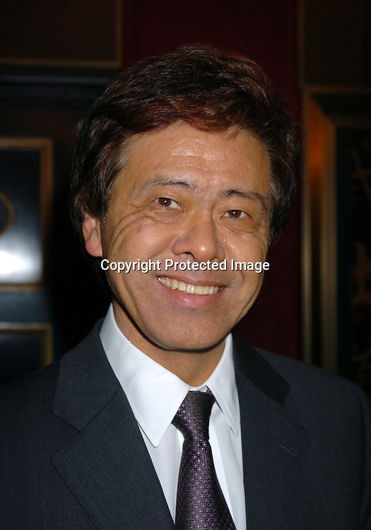 "Japanese Ambassador Ando..at the New York Premiere of "" The Last Samurai""  on December 2, 2003 at the Ziegfeld Theatre.                           Photo by Robin Platzer, Twin Images"
