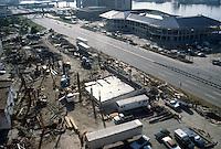 1982 October..Redevelopment.Downtown South (R-9)..WATERSIDE.CONSTRUCTION PROGRESS...NEG#.NRHA#..