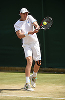 Wimbledon, 27/6/2014<br /> <br /> Kevin ANDERSON (RSA)<br /> <br /> &copy; Ray Giubilo/ Tennis Photo Network