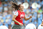 24 August 2014: Ohio State's Lindsay Agnew. The University of North Carolina Tar Heels hosted the Ohio State University Buckeyes at Fetzer Field in Chapel Hill, NC in a 2014 NCAA Division I Women's Soccer match. UNC won the game 1-0.
