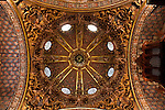 Dome of the church Santo Domingo, Orihuela. Alicante province, Comunidad Valenciana, Spain