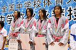 Musashino Junior High School team group, AUGUST 22th, 2010 - Swimming: All Japan Junior High School Swimming Championships Women's 400m Medley Relay in Hiroshima, Japan. (Photo by YUTAKA/AFLO SPORT) [1040]