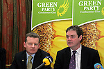 Green Party Think In at the Boyne Valley Hotel in Drogheda.