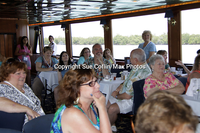 fans at 15th Southwest Florida Soapfest 2014 Charity Weekend - at Cruisin' and Schmoozin' on May 25, 2104 aboard the Marco Island Princess (boat), Marco Island, Florida.  (Photo by Sue Coflin/Max Photos)