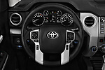Car pictures of steering wheel view of a 2018 Toyota Tundra TRD Sport Crew 4 Door Pick Up
