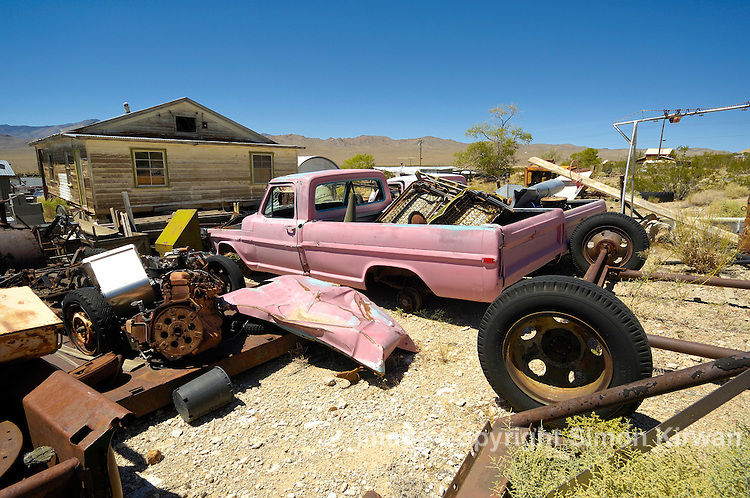 Darwin ghost town, California, USA