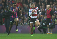 Gloucester Rugby Jonny May scores his sides first try<br /> <br /> Photographer Rachel Holborn/CameraSport<br /> <br /> European Rugby Challenge Cup Final - Gloucester Rugby v Stade Francais Paris - Friday 12th May 2017 - BT Murrayfield, Edinburgh<br /> <br /> World Copyright &copy; 2017 CameraSport. All rights reserved. 43 Linden Ave. Countesthorpe. Leicester. England. LE8 5PG - Tel: +44 (0) 116 277 4147 - admin@camerasport.com - www.camerasport.com
