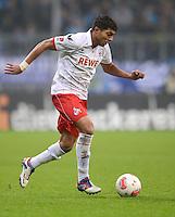 Fussball 2. Bundesliga:  Saison   2012/2013,    14. Spieltag  TSV 1860 Muenchen - 1. FC Koeln  16.11.2012 Adil Chihi (1. FC Koeln)