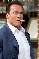 Arnold Schwarzenegger in Brussels - Belgium