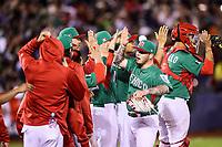 Mexico gana 11 carreras por 9, durante el partido Mexico vs Venezuela, World Baseball Classic en estadio Charros de Jalisco en Guadalajara, Mexico. Marzo 12, 2017. (Photo: AP/Luis Gutierrez)