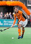 BLOEMENDAAL - Marcel Balkestein van OZ  tijdens  de finale van de EHL tussen de mannen van Oranje Zwart en UHC Hamburg . OZ wint na shoot outs. COPYRIGHT KOEN SUYK