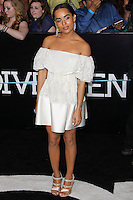 "WESTWOOD, LOS ANGELES, CA, USA - MARCH 18: Zoe Kravitz at the World Premiere Of Summit Entertainment's ""Divergent"" held at the Regency Bruin Theatre on March 18, 2014 in Westwood, Los Angeles, California, United States. (Photo by Xavier Collin/Celebrity Monitor)"