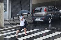SAO PAULO, SP, 01 DE DEZEMBRO DE 2012 - Pancada de chuva atinge a capital na regiao da luz, centro da capital, na tarde deste sabdao, 01. FOTO: ALEXANDRE MOREIRA - BRAZIL PHOTO PRESS.