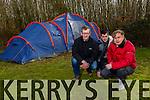 Thermo Tents Ltd, Tom Crean Centre Pictured Derek O'Sullivan, CEO, with Joseph Hartnett, Maalis Kuusk