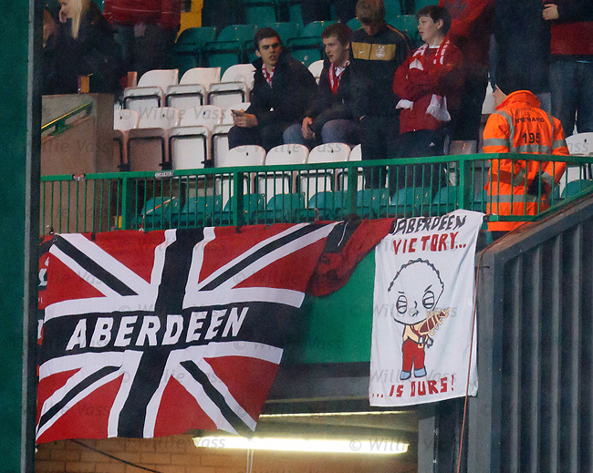 Aberdeen fans with a sense of humor, victory is ours after a 9-0 humping