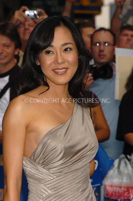 WWW.ACEPIXS.COM . . . . .  ....July 11, 2006, New York City. ....'Lost' TV series cast member Yunjin Kim stops byt the Letterman Show.......Please byline: AJ Sokalner - ACEPIXS.COM..... *** ***..Ace Pictures, Inc:  ..(212) 243-8787 or (646) 769 0430..e-mail: info@acepixs.com..web: http://www.acepixs.com