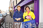 Eilish Wren and Beatrice Carmody from Ballylongford Christmas Shopping in Listowel.