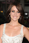 HOLLYWOOD, CA - JUNE 21: Jessica Stroup attends the 'Ted' World Premiere held at Grauman's Chinese Theatre on June 21, 2012 in Hollywood, California.